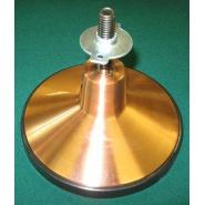 Satin Copper/Bronze Finish Heavy Duty 6.25 in. Leg Leveler
