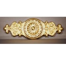 Two-piece Solid Brass Escutcheon & Rosette