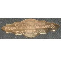 Kansas City Billiards nameplate